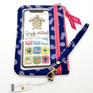 Simply Southern Phone Wristlet - PINEAPPLE
